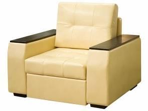 Кресло из экокожи кровать Квант