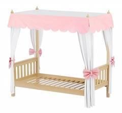 """Двухъярусная кровать Детская  с навесом """"Принцесса"""""""