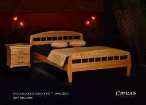 """Кровать (размер 200х80) """"Стиль"""""""