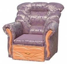 "Тканевое кресло ""Елизавета МДФ"""