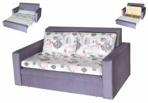 """Выкатной диван с ящиками """"Баттерфляй"""""""