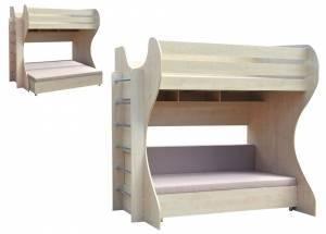 """Двухъярусная кровать """"Уголок детства"""""""