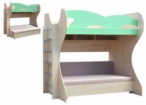 """Двухъярусная кровать """"Уголок детства-1"""""""