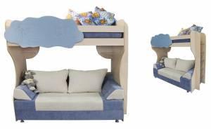 """Двухъярусная кровать Детская с диваном """"Амаретто-1"""""""