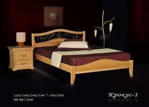 """Кровать из бука """"Крокус-1"""""""