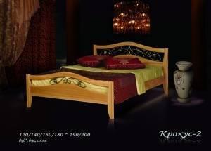 """Кровать из бука """"Крокус-2"""""""