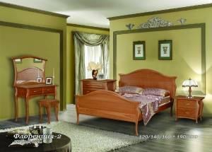 """Кровать из бука """"Флоренция-2"""""""