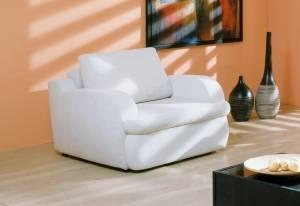 Белое кресло Мустанг