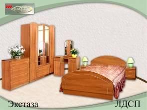 """Спальня с ящиками """"Экстаза (ЛДСП)"""""""