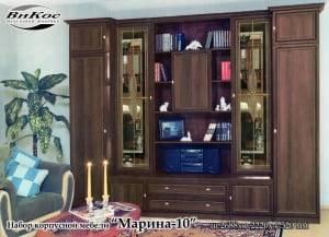 """Черная стенка в гостиную """"Марина-10"""""""