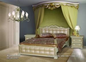 """Кровать из бука """"Купидон"""""""