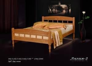 """Кровать (размер 200х80) """"Лилия-2"""""""
