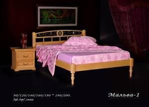 """Кровать (размер 200х80) """"Мальва-1"""""""