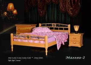 """Кровать (размер 200х80) """"Мальва-2"""""""