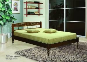 "Кровать (размер 200х80) ""Жасмин-1"""