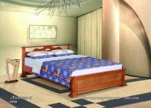 """Кровать (размер 200х80) """"Лотос-1"""""""