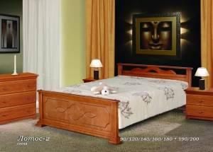 """Кровать (размер 200х80) """"Лотос-2"""""""