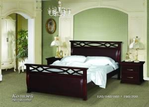 """Кровать из бука """"Колизей"""""""