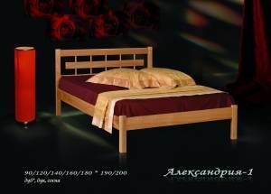 """Кровать из бука """"Александрия-1"""""""