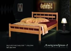 """Кровать из бука """"Александрия-2"""""""