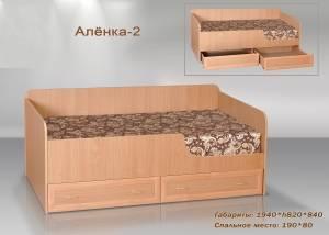 Маленькая кровать Алёнка 2