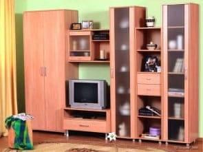 """Стенка в гостиную детская для девочек """"Светлана"""""""