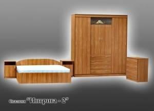 """Спальня с ящиками """"Интрига-2"""""""