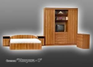 """Спальня с ящиками """"Интрига-1"""""""