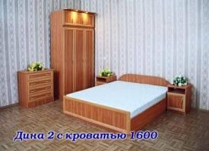 """Спальня с ящиками """"Дина-2"""""""