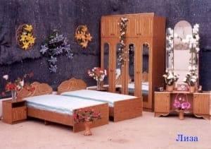 """Спальня с ящиками """"Лиза"""""""