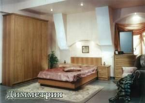 """Спальня с ящиками """"Димметрия"""""""