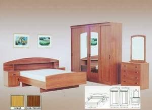 """Спальня с ящиками """"Соня"""" Люкс-2"""