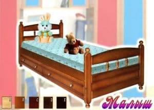 Низкая кровать Малыш