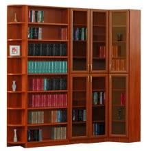 """Шкаф распашной (цвет орех) Библиотека """"Талисман"""""""