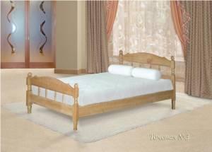 Кровать (размер 120х190) Точеная №3