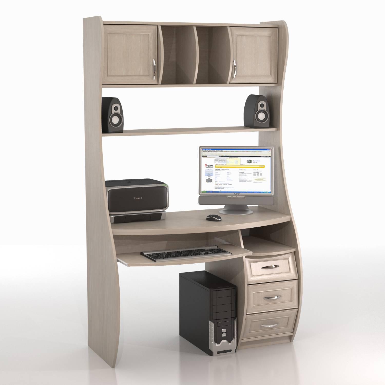 Компьютерный стол кс-1к беркут. интернет-магазин азбука мебе.