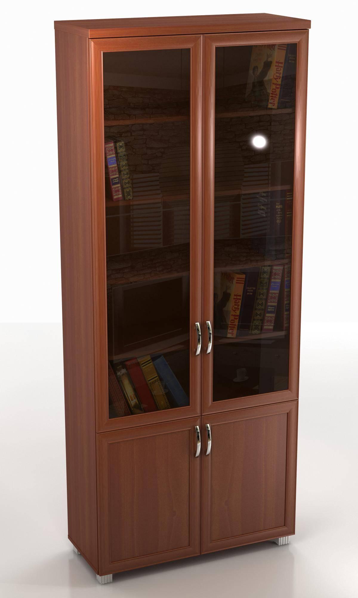 Шкаф со стеклом.