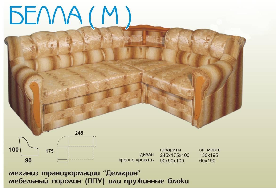 Спальные диваны цены в  Москве