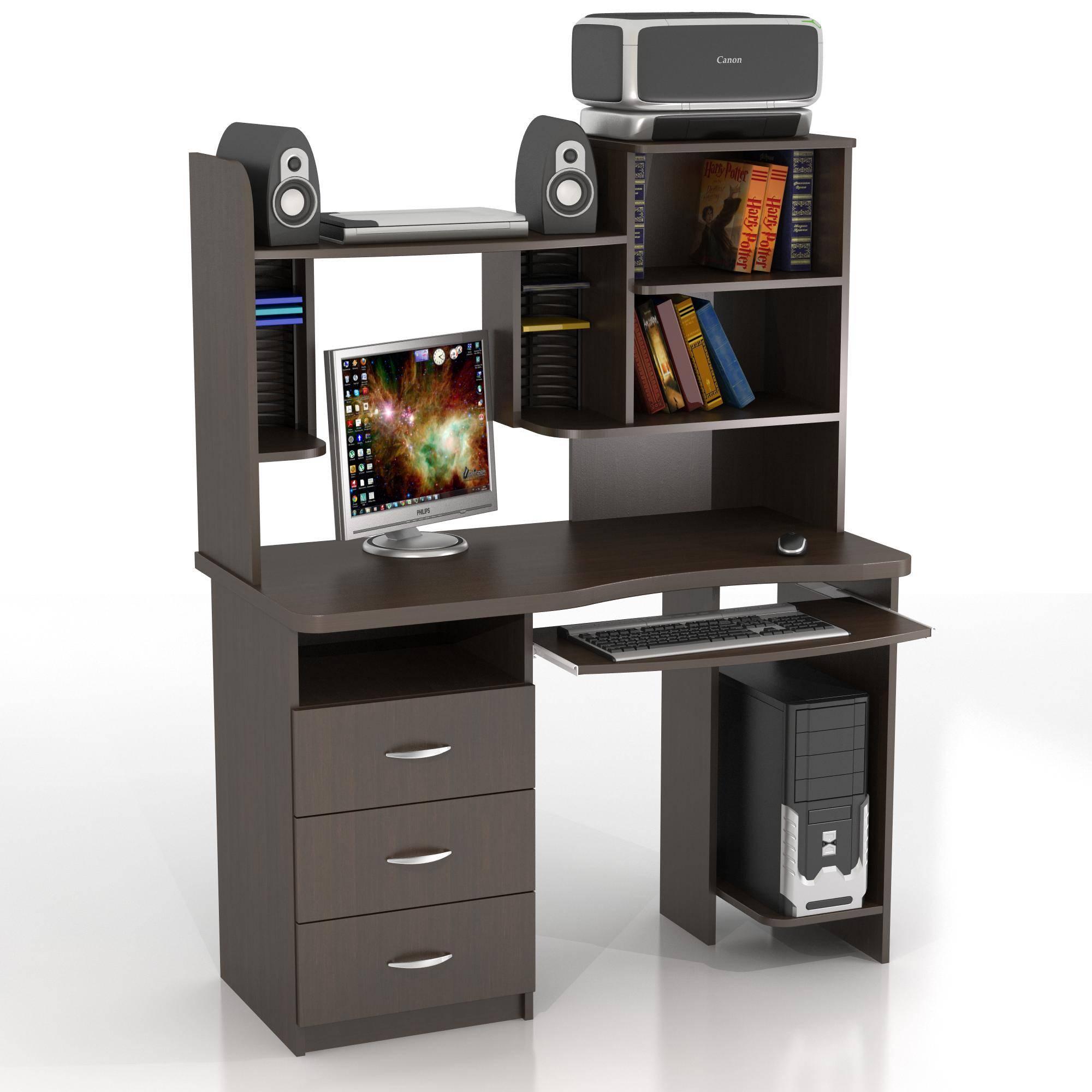 Компьютерный стол с ящиками, купить компьютерные столы в инт.